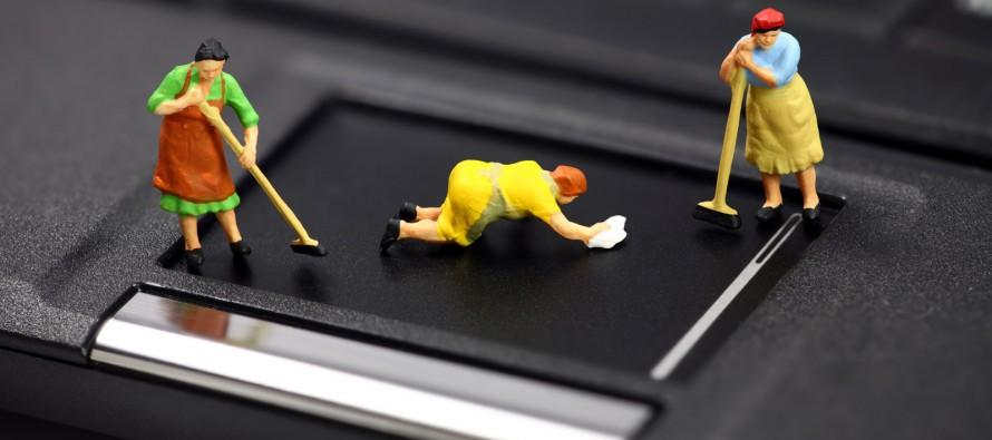 Kako da očistite laptop od prašine