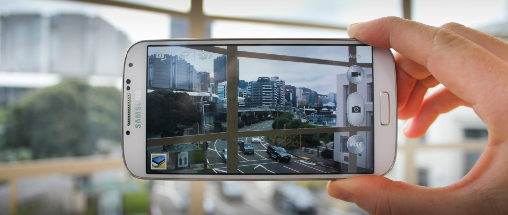 Kamera na telefonu Galaxy S4
