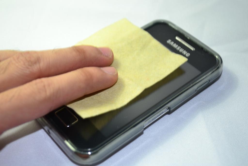 Mikrofiber krpica za čišćenje ekrana