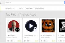 Uskoro kupovina aplikacija na Play prodavnici