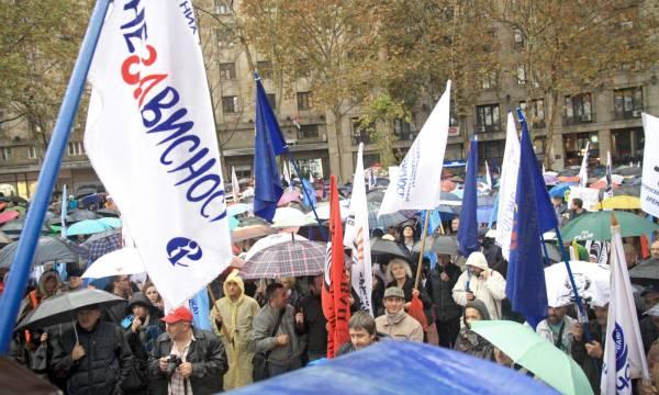 Prosvetari štrajkuju. Foto: Vanja Simić