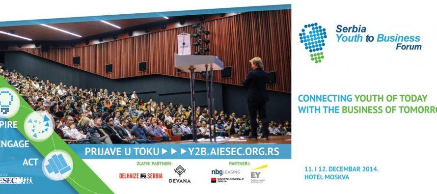 Youth to Business Forum prvi put u Srbiji!
