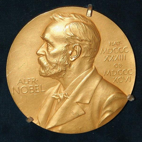 Medalja koju dobitnici Nobelove nagrade dobijaju kao priznanje.