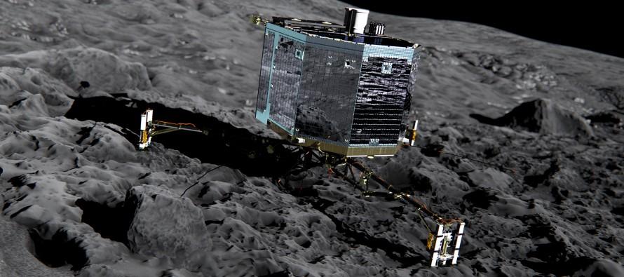 Robot Fajli sleteo na kometu – dva puta