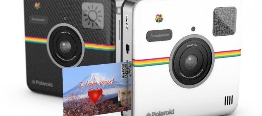 Polaroidov aparat za društvene mreže – Socialmatic