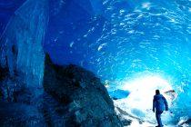 Ovako izgleda unutrašnjost glečera na Aljasci