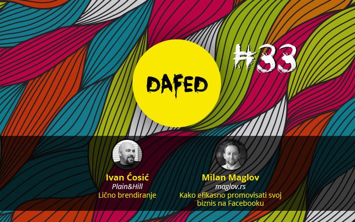DaFED#33-predavaci