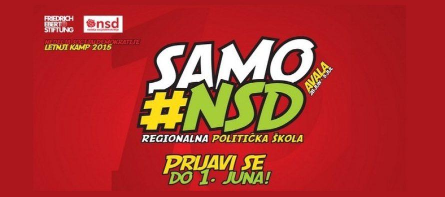 """Letnja škola """"Nedelja socijaldemokratije 2015"""""""