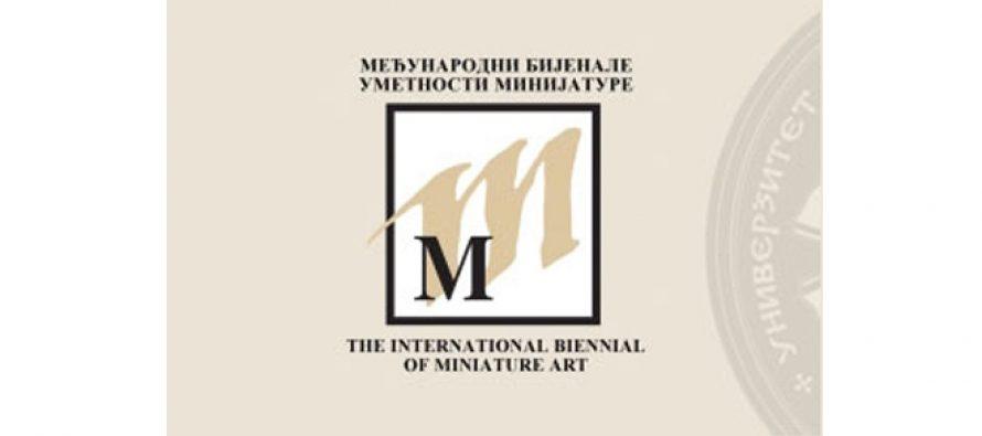 13. bijenale umetnosti minijature
