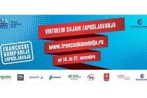 Virtuelni sajam zapošljavanja – deo Francuske nedelje u Beogradu