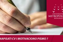 Radionica pisanja CV-a i motivacionog pisma
