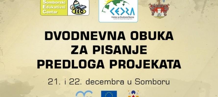 Radionica pisanja predloga projekata u Somboru