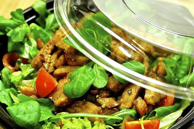 porcija salate