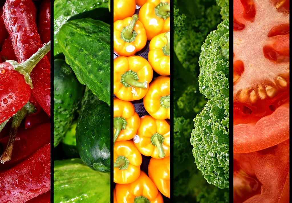 Samo što šarenije povrće i voće u toku leta!