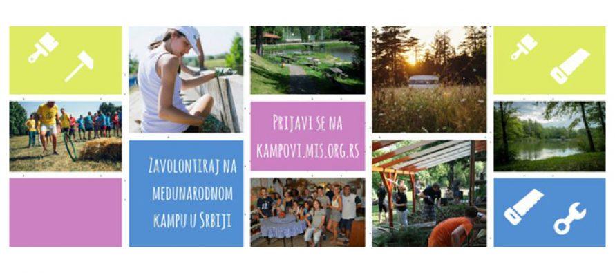 Prijava za 35 volonterskih kampova
