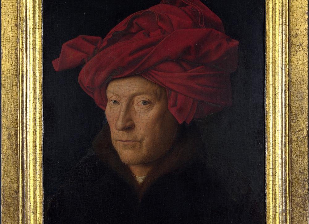 Jan van Ajk (autoportret?)