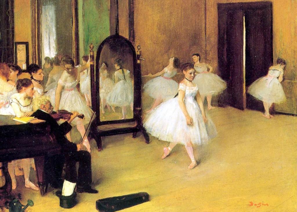 """Edgar Dega """"Čas plesa"""""""