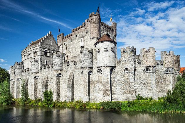 dvorac grofova gent