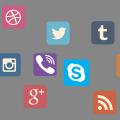 drustvene mreze ikone