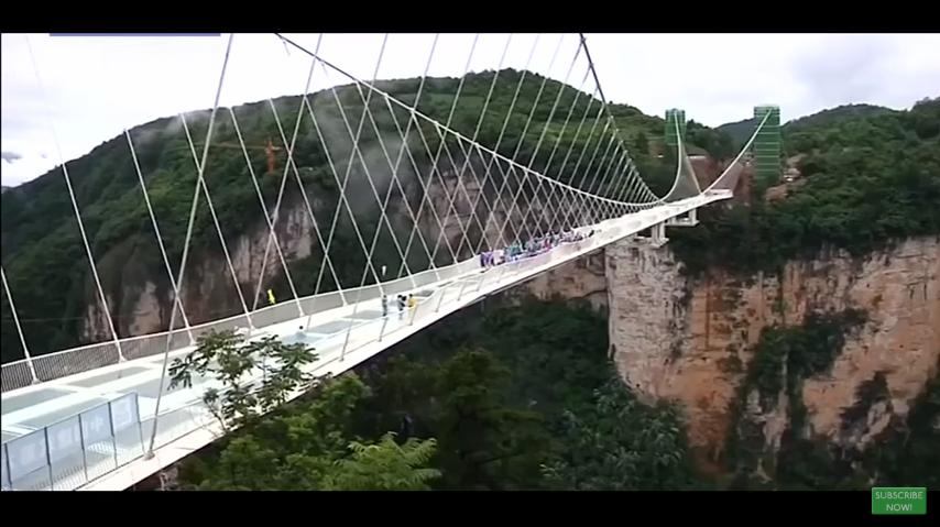 Otvoren najduži stakleni most na svetu  Edukacija