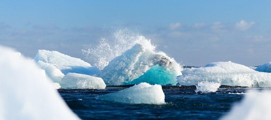 Vidno povlačenje leda na Arktiku