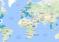 Mapa sa šiframa za internet na aerodromima širom sveta