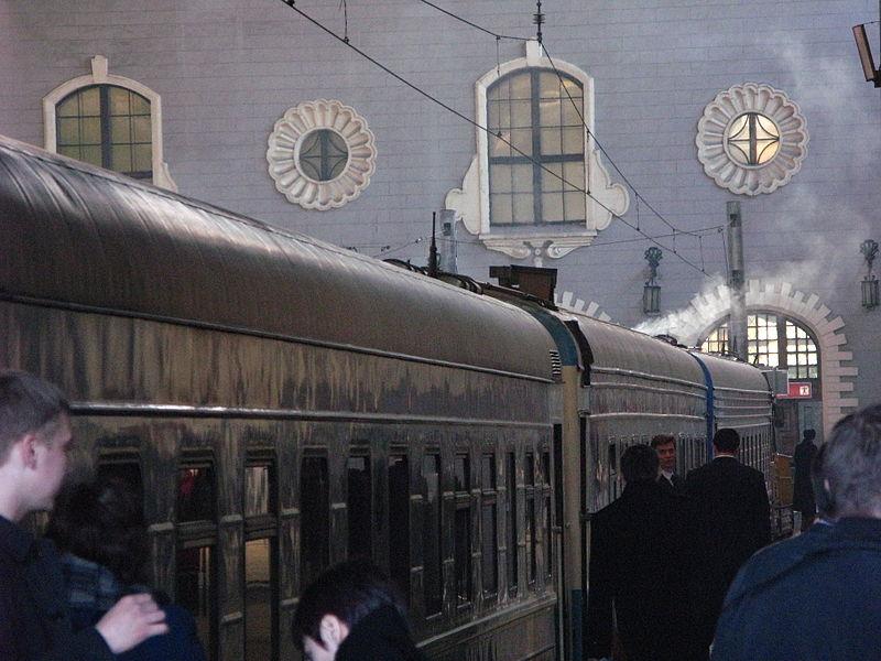 Početna stanica Transsibirske železnice - Kazanski stanica (Moskva)