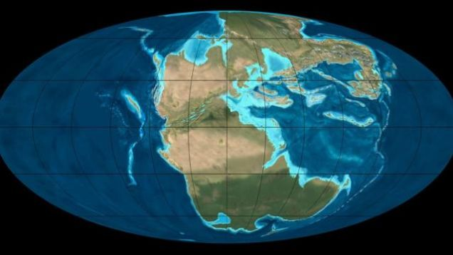 Pangea - prakontinent
