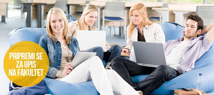 Upiši fakultet koji želiš uz online pripremu