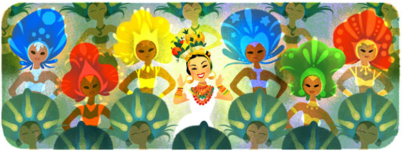 Google je obeležio dan rođenja Karmen Mirande