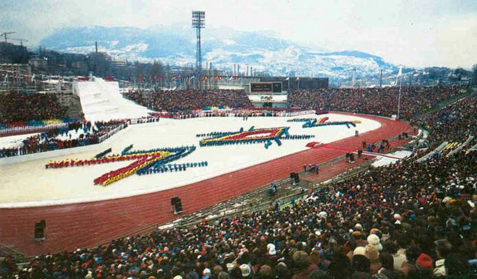 """Stadion """"Koševo"""" 1984. godine"""