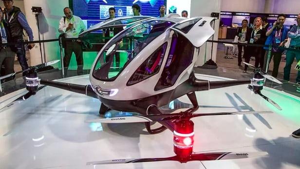 taxi dron dubai