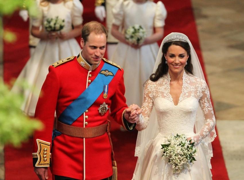 Britanski princ Vilijam i Kejt Midlton