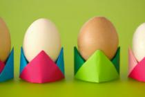 Uskršnja dekoracija: Napravite origami korpice za jaja