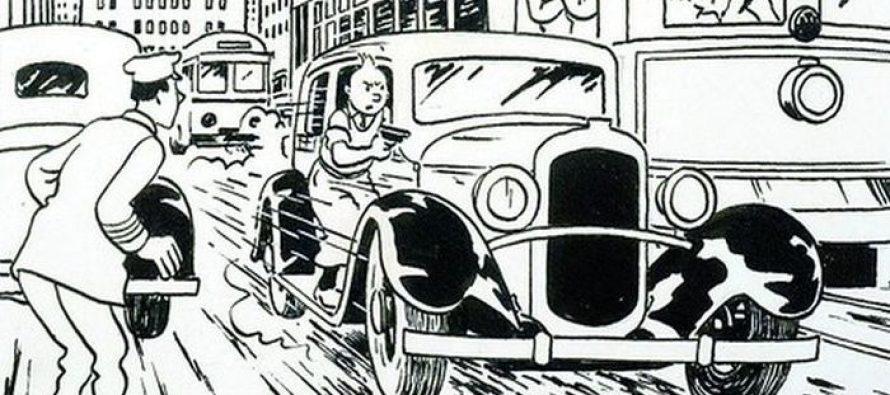 Crtež Tintina prodat po rekordnoj ceni