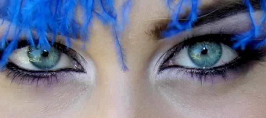 Mejkap u skladu sa bojom očiju