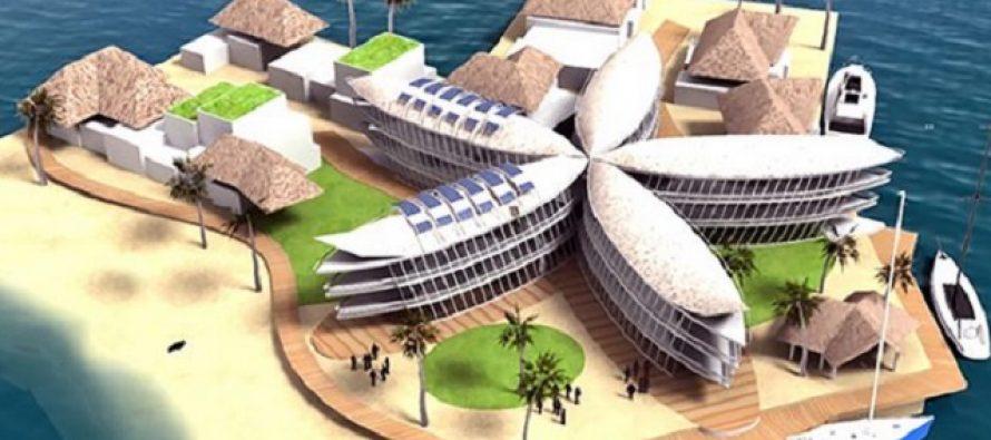 U laguni na Tahitiju gradi se prvo plutajuće selo