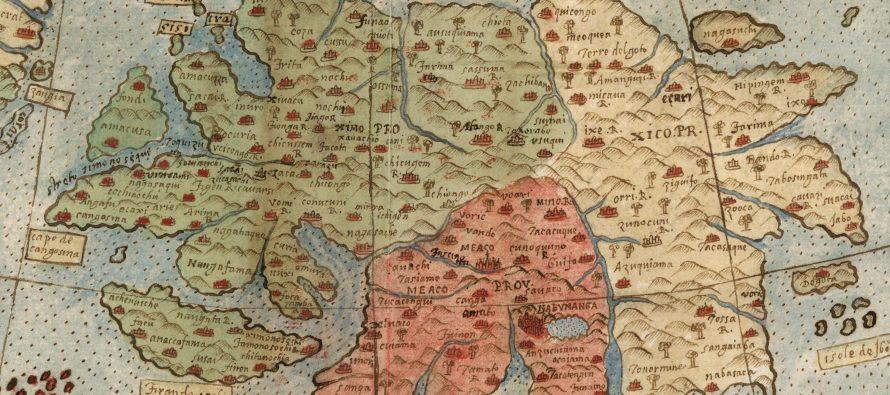 Pogledajte najveću i najraniju kartu sveta, koja sadrži i mitološka bića!