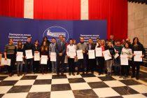 """Uručene nagrade i priznanja darovitim učenicima i njihovim mentorima – """"Talenti 2017"""""""