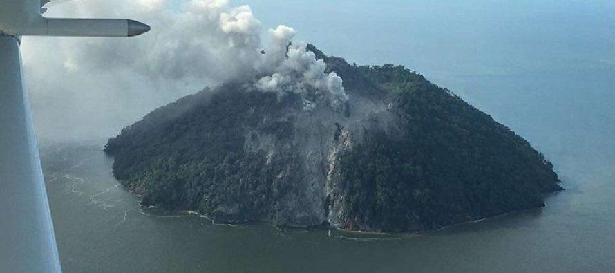 Prvi put u istoriji: Erupcija vulkana u Papua Novoj Gvineji