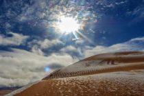U Sahari padao sneg drugu godinu zaredom