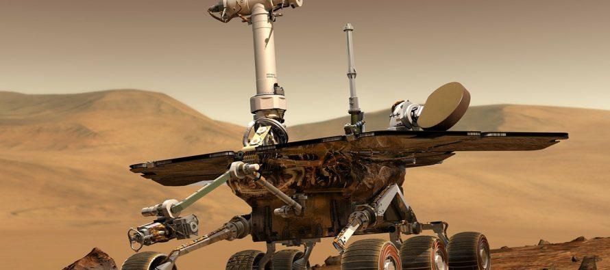 Poslednji pozdrav Oportjuniti roveru!