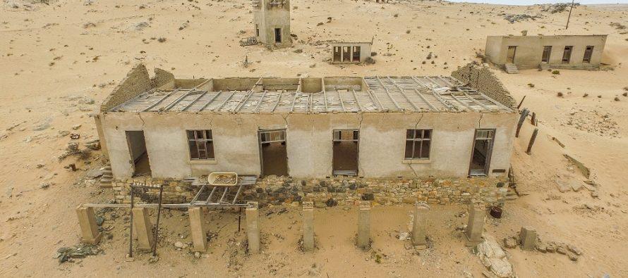 Namibijski grad duhova – Kolmanskop!