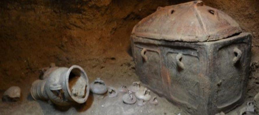 Otkrivena grobnica odgovara na pitanje o poreklu starih Grka?