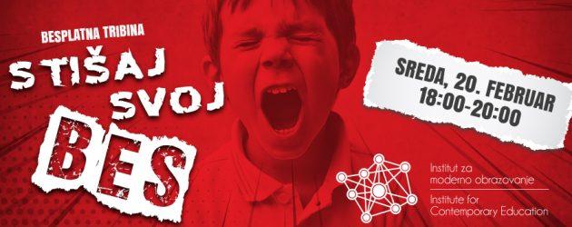 Besplatna tribina za nastavnike i roditelje: Kako kontrolisati asocijalno ponašanje dece?