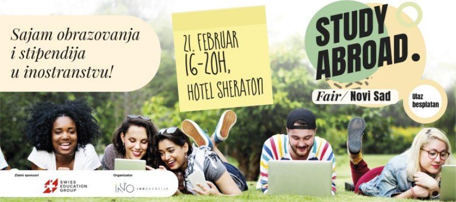 Pozivamo vas na Study Abroad. Fair 2019 – 21. februara u Novom Sadu!
