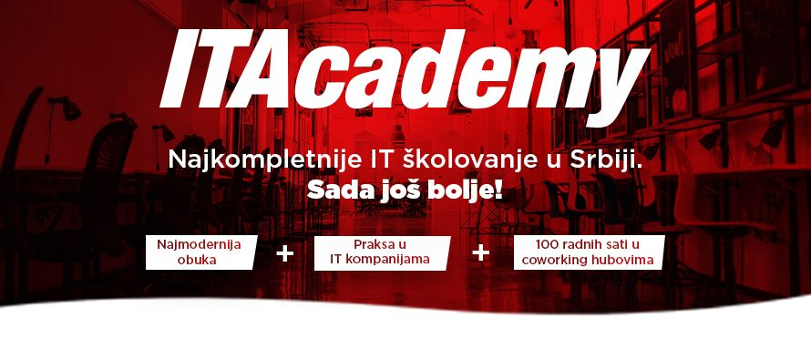 ITAcademy: Uz najmodernije školovanje dobijate i 100 coworking sati u ICT Hubu i Novoj Iskri