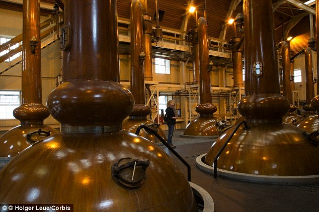 Postrojenje za proizvodnju viskija