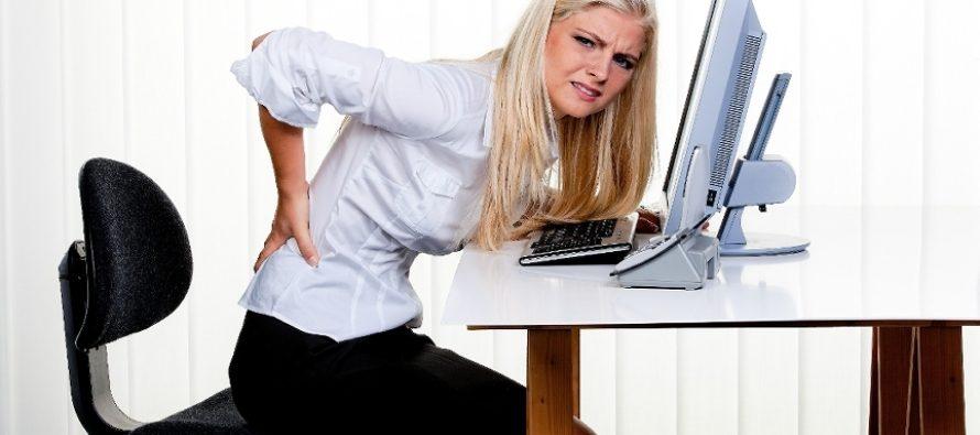 Kako pravilno sedeti za kompjuterom?