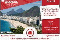 Plaćena stručna praksa u Brazilu